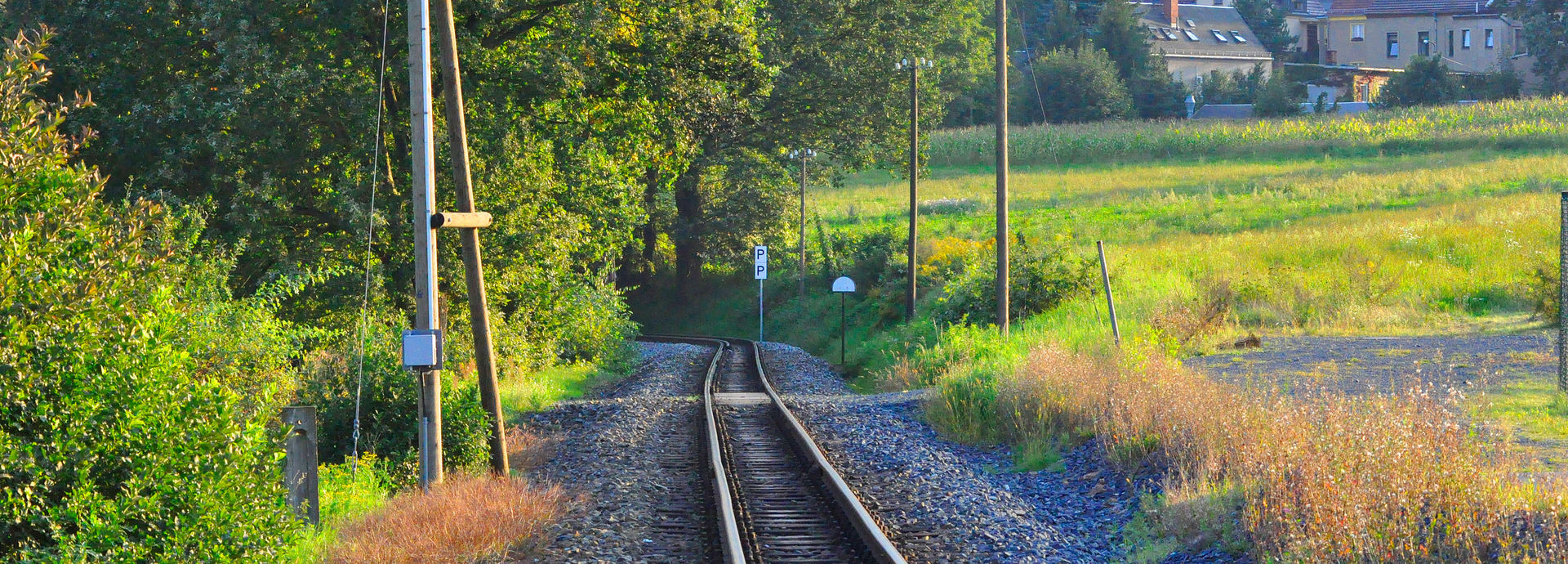 Bahnstrecke bei Friedewald Bad.  © Rotkopf Görg Verlagsgesellschaft mbH - A. Linz