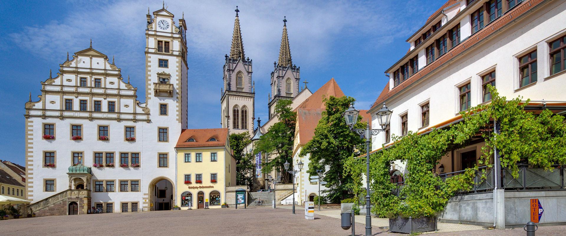 Hotel- und Restaurant Gasthaus Zum Schwan am historischen Oschatzer Neumarkt  © travdo hotels & resorts GmbH