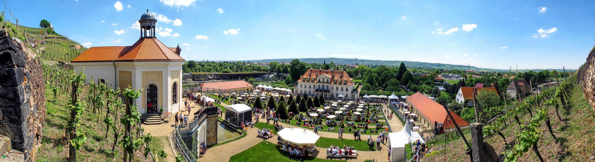 Schloss Wackerbarth_Panorama  © Heinz-Dieter Schulz