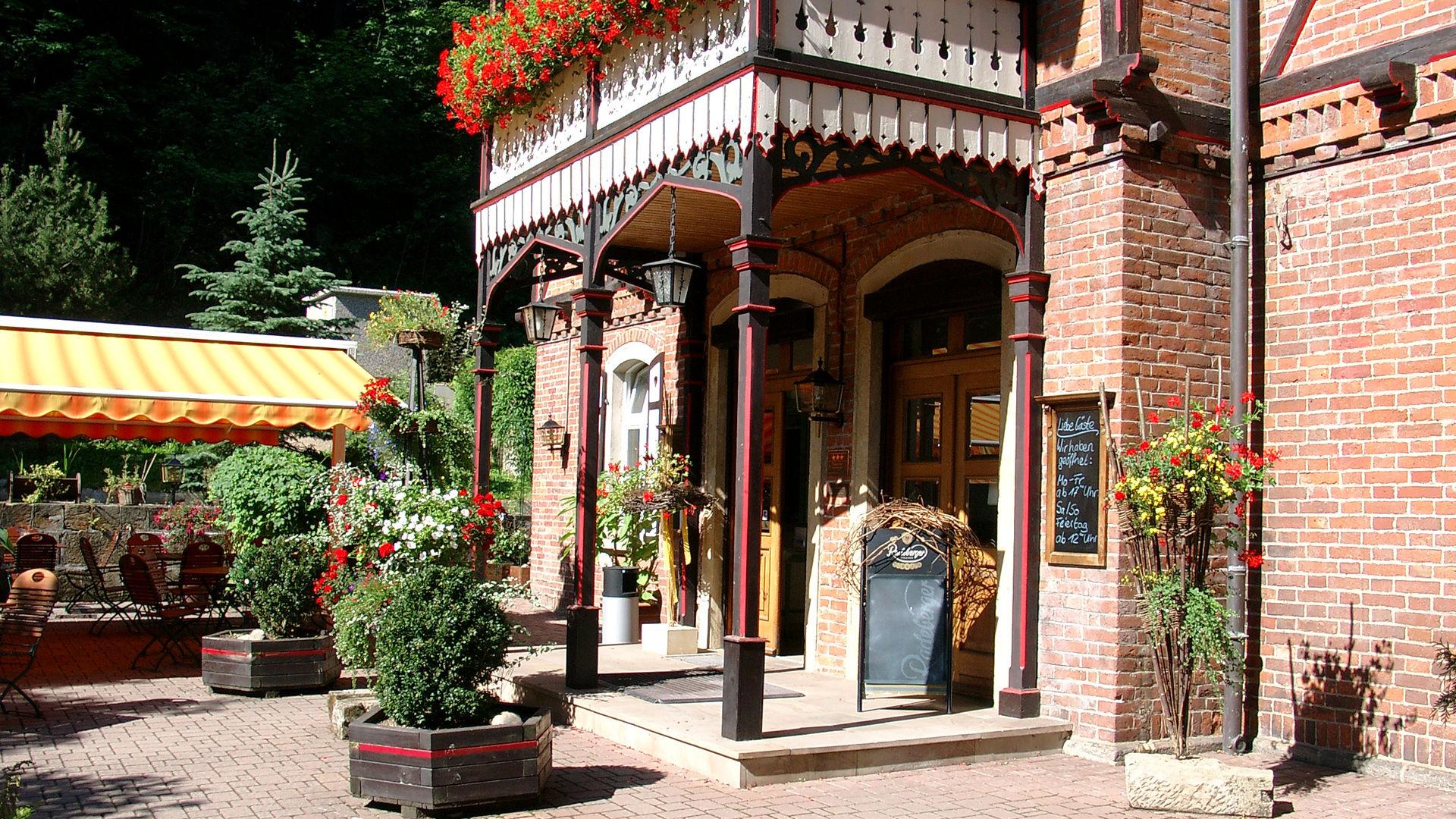 Eingang Rabenauer Mühle  © Hotel Rabenauer Mühle