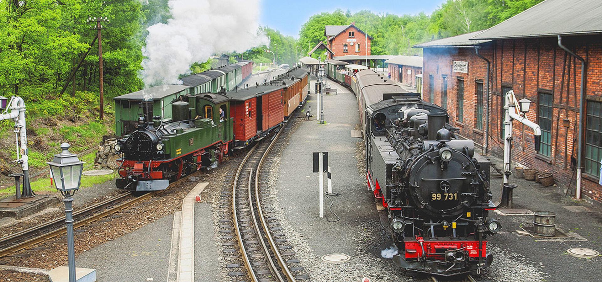 Doppelausfahrt in Bertsdorf.  © Mario England