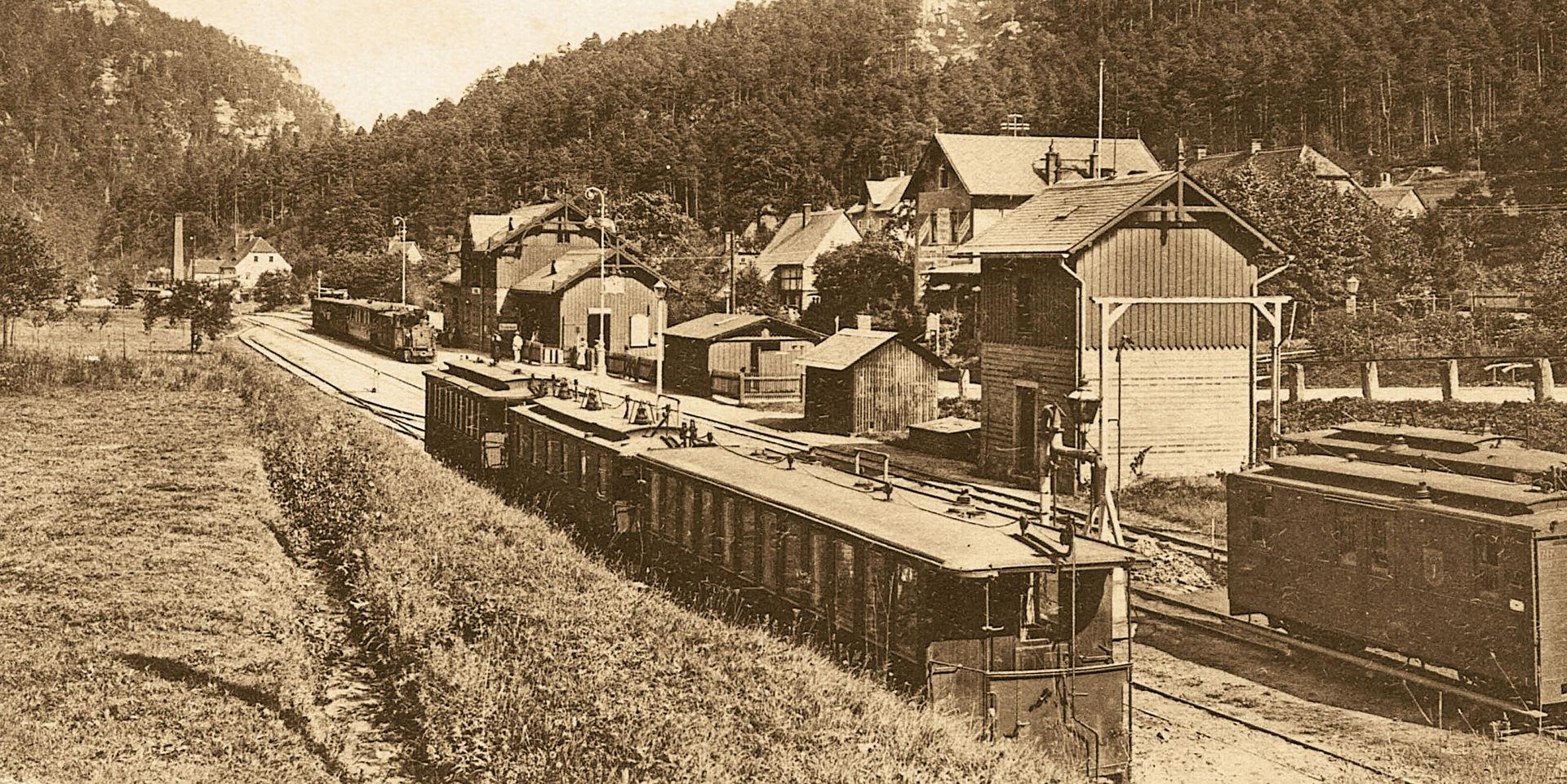 Bahnhof Oybin  © Sammlung K.Sächs.Sts.E.B. A. Linz