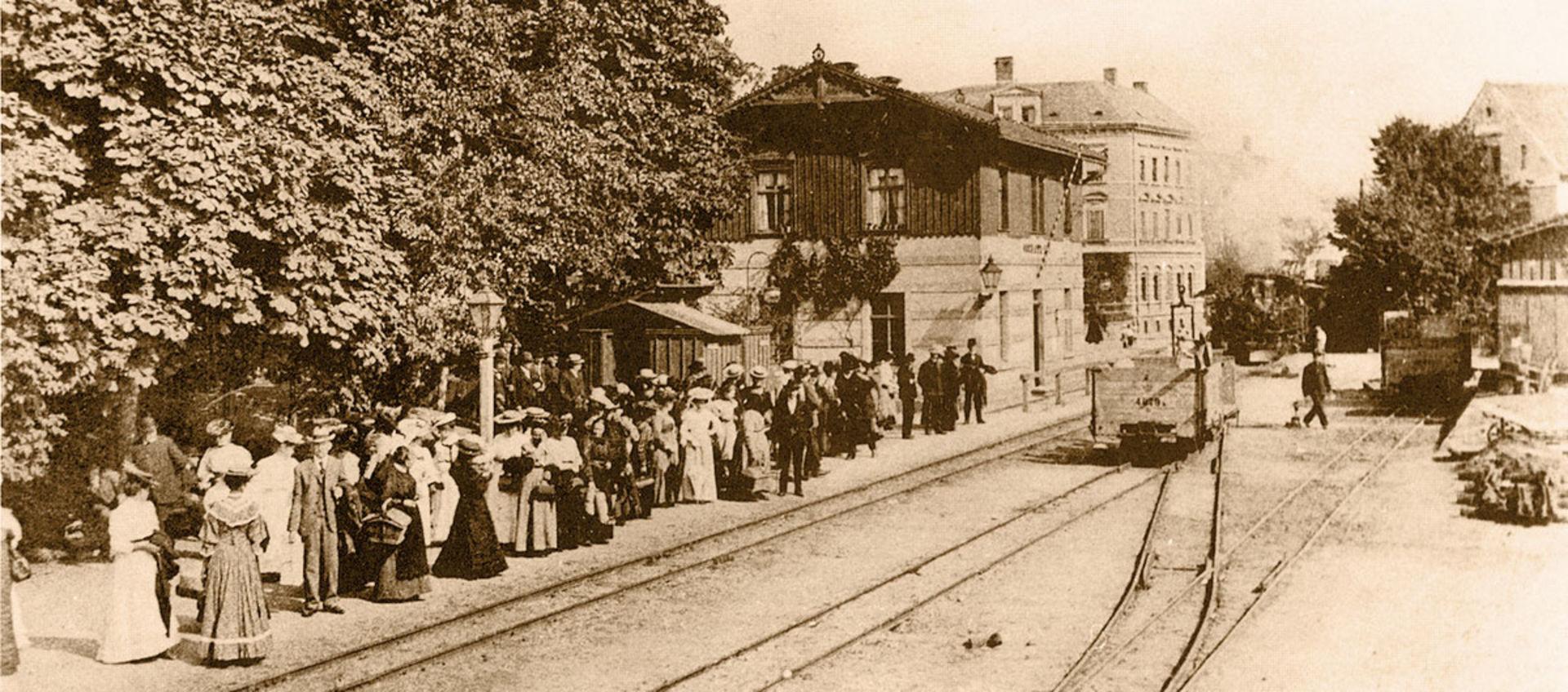 Bahnhof Oschatz Süd.  ©
