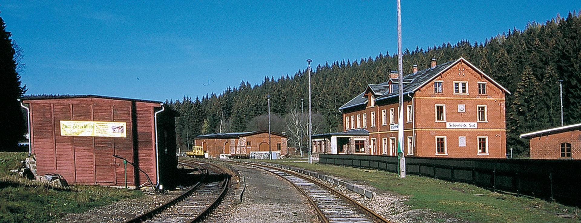 Bahnhof Schönheide Süd.  © Rotkopf Görg Verlagsgesellschaft mbH - A Linz