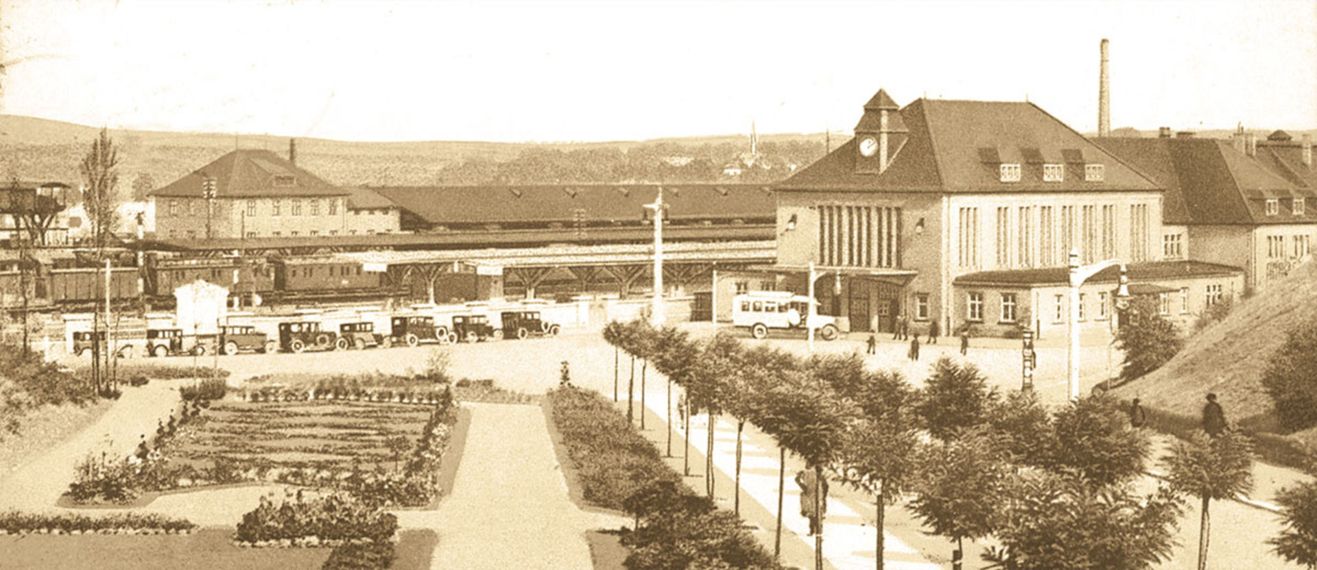Bahnhof Glauchau.  © Ansichtskarten Sammlung A Linz