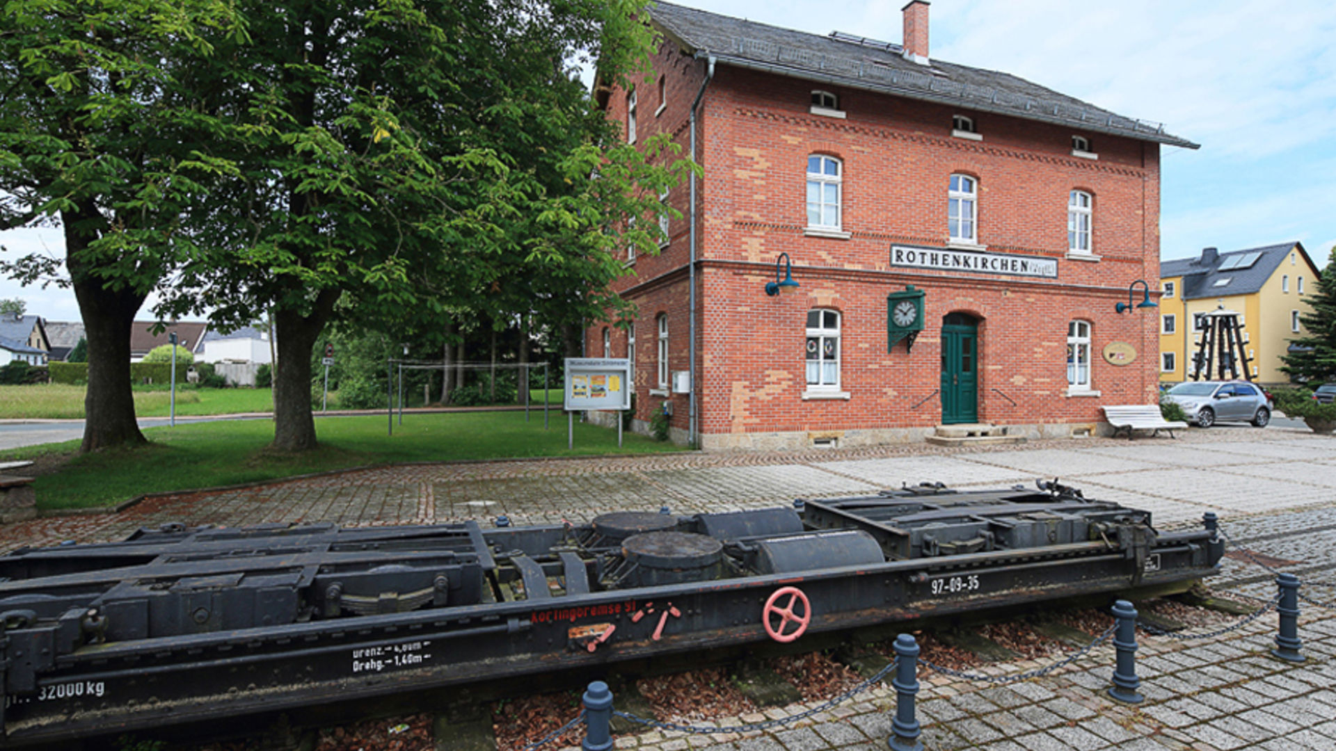 commune of steinberg western ore mountains and vogtland steam railway route saxony