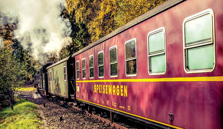 Alta vapore treno Lusazia del a via Sassonia DH92IE