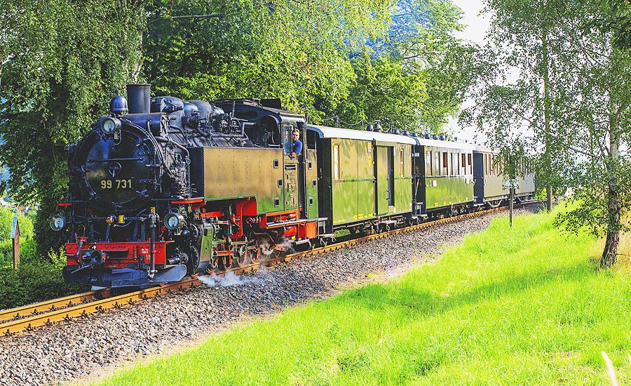 Einsatz des Reichsbahnzuges