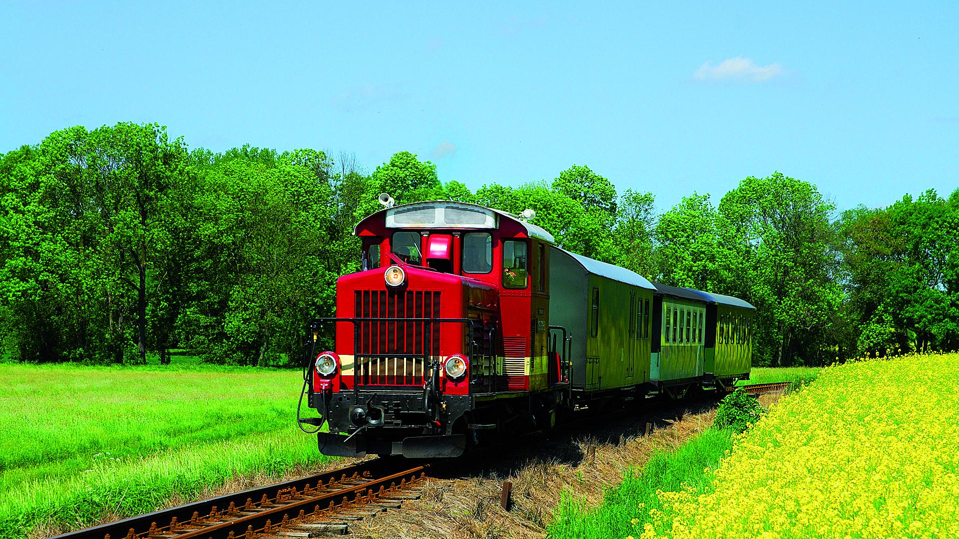 Ferienfahrten mit Dieselzug