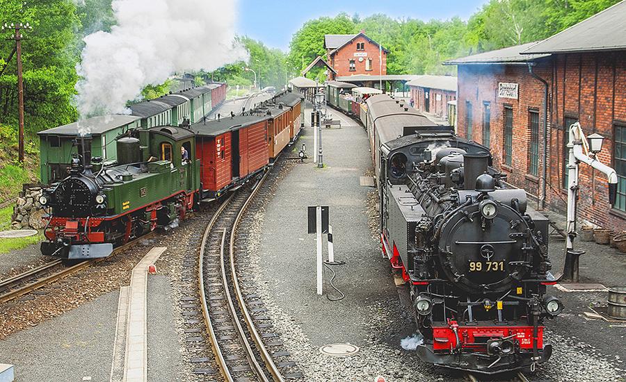 Werkstattbesichtigung am Bahnhof Zittau