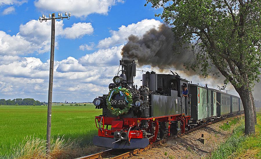 Festwochenende – Bahnhofsfest am Mügelner Bahnhof,